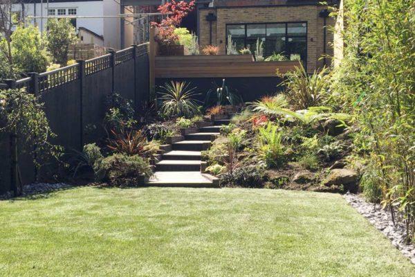 Tiered garden in Highgate, 12