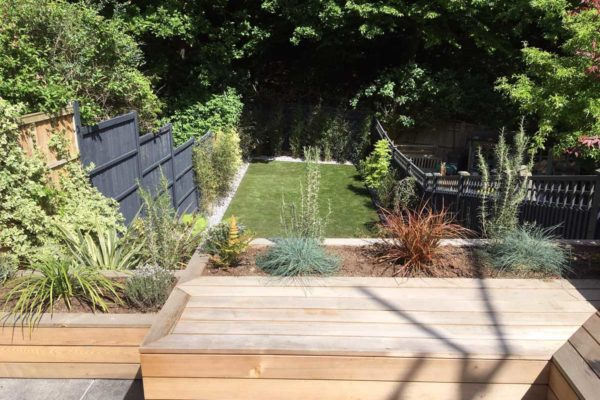 Tiered garden in Highgate, 1