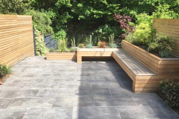 Tiered garden in Highgate, 5