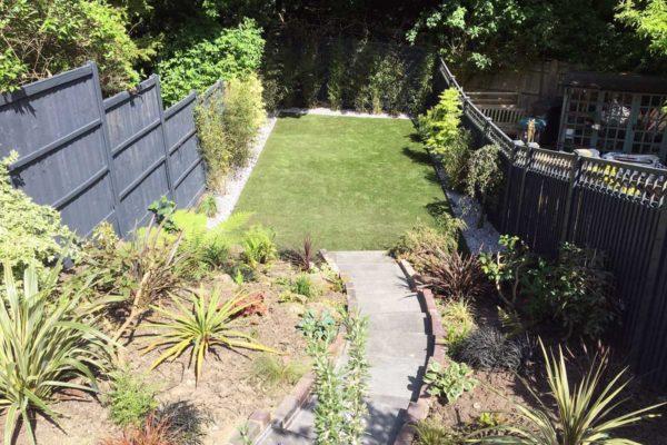 Tiered garden in Highgate, 6