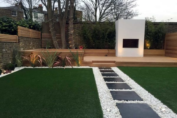 Artificial Lawn in Hackney