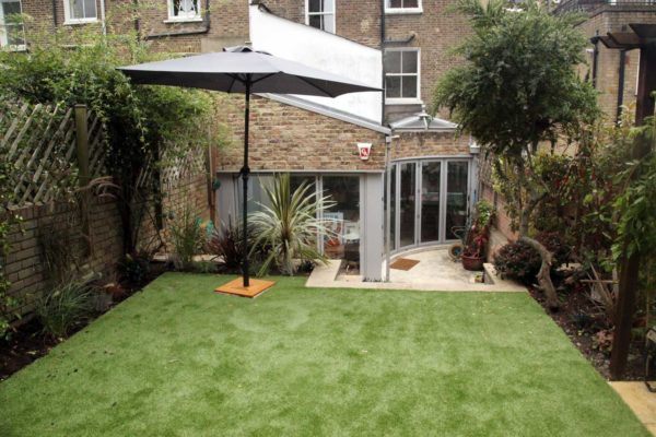 Artificial Lawn in North London