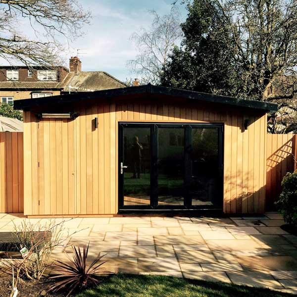 Garden outbuilding in North London
