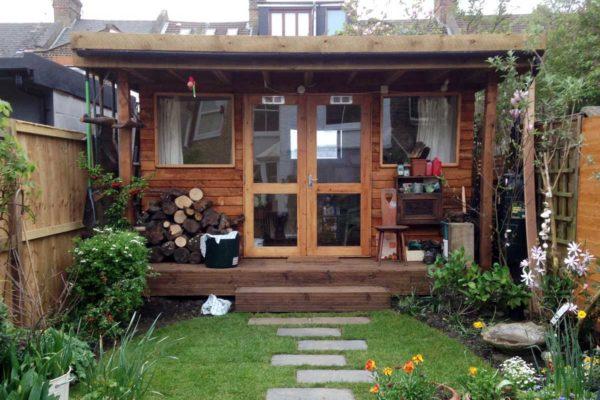 Garden room in North London, 1