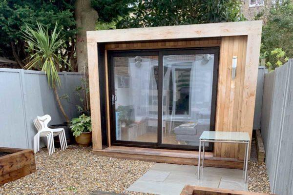 Garden studio in North London