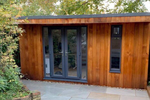 Garden studio in North London by FMN Gardens