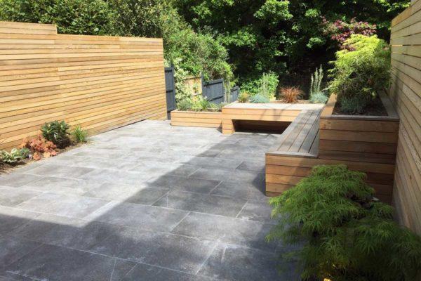 Tiered garden in Highgate, 4