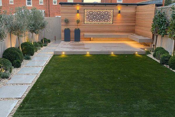New Build Back Garden in Radlett