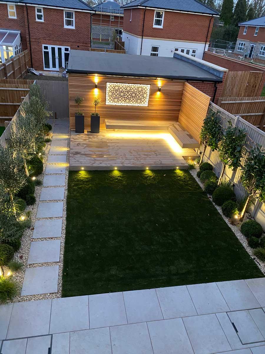 View of back garden in Radlett